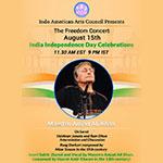 Freedom Concert by Sarod Maestro Amjad Ali Khan