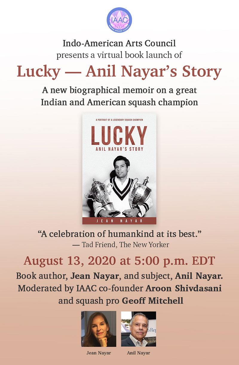 Book launch of Lucky—Anil Nayar's Story